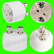 HIGH QUALITY GU10 To MR16 Lamp Holder Adaptor Converter UK STOCK - FAST DISPATCH