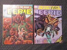 1979 EERIE Warren Horror Magazine LOT of 2 #103 VF- 104 VF-