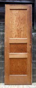 "24""x71.5 Antique Vintage Old Interior SOLID Wood Wooden Closet Pantry Door Panel"