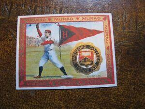 Murad T51 College Series Tobacco Cigarette Card Haverford College Baseball #87