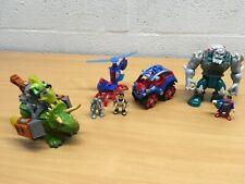 IMAGINEXT Triceratops Doomsday Spiderman vehículos que elija