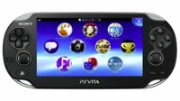 SONY PS Vita PCH-1000 ZA01 Crystal Black Console Only Wi-Fi model JAPAN OFFICIAL