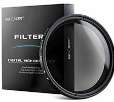 K&F Concept 52mm ND2 to ND400 HD Slim Fader Variable Neutral Density ND Filter