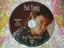 PAUL YOUNG The Music Video Anthology 1984 to 2017 DVD 28 Music Videos 2 Hours