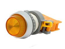 PLN-22A ATI Yellow LED Pilot Indicator Light 22mm 12V DC Replaceable Lamp