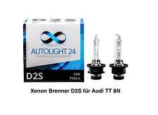 2 x Xenon Brenner D2S für Audi TT 8N auch Roadster Lampen Birnen E-Zulassung