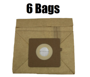 6 Bissell Canister Bags Zing 22Q3 Vacuum Bags 2037500, 2037960, 77F8 GENUINE