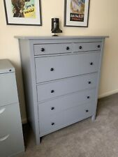 Ikea large chest of drawers in grey - AS NEW