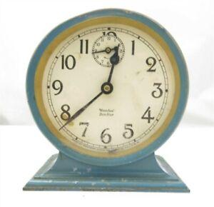Vintage Westclox Ben Hur Made in USA Alarm Clock AS IS