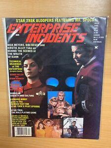 "*RARE* APR 1984 STAR TREK ""ENTERPRISE INCIDENTS"" #16 USA MAGAZINE (P4)"
