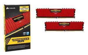 CORSAIR Vengeance LPX 16GB (2x8GB) DDR4 2133MHz (PC4-17000) Dual-Channel RAM
