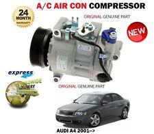 FOR A4 8E0260805CB 8E0260805BP 8E0260805BS ORIGINAL AC AIR CONDITION COMPRESSOR