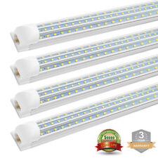 T8 Integrated LED Tube Light Fixture 4FT 60W 8FT 120W...