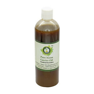 R V Essential Pure Neem Oil 3.38oz Azadirachta Indica Cold Pressed 100% Natural