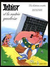 ASTÉRIX ET LA RENTRÉE GAULOISE + VALISETTE de 3 VHS  GOSCINNY / UDERZO   EO