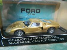"BANG Ford GT40 MkI 'Stradale"" Street Version1965 Oro Gold  NIB #7071 RETIRED"