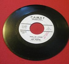 "JEFF HUNTER ""MAN OF STONE"" RARE 1963 R & B / SOUL CAMAY C-6000 LQQQK!!"