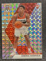 2019-20 Panini Mosaic RC Admiral Schofield SILVER Prizm SP Rookie #202
