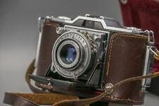 ZEISS IKON IKONTA 35 522/24 With Novar Anastigmat 1:3.5 f= 45mm + Original Case