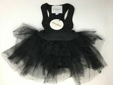 Girl's Youth I Love Plum Sleeveless Leotard Tutu, Size 6-12M - Black