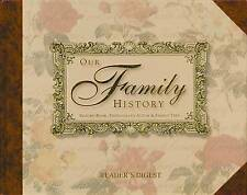 USED (GD) Our Family History: Record Book, Photograph Album & Family Tree