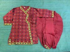 Elegant Indian Traditional Krishna(Kanha) Dress/Cotton Dhoti Kurta Set for Kids