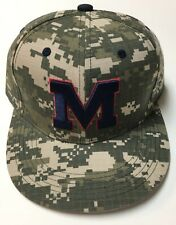 15b0146b5d9 Ole Miss Rebels Military Baseball Hat Cap