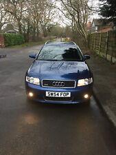 2004 54 Audi A4 Avant Quattro Sport 1.9 TDI 130  6 spd man Met Blue 98k FSH PD