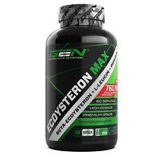Ecdysteron-Max - 60 Kapseln á 760mg - Beta-Ecdysteron + Leucin + Piperin vegan