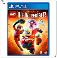 PS4 LEGO The Incredibles Sony PlayStation Warner Home Video Action Games