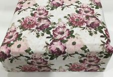 Flannel Sheet Set KING Size 4 Piece 100% Cotton Heavyweight Deep Pocket  Floral