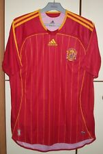 Spain 2005 - 2007 Home football shirt jersey Adidas size M