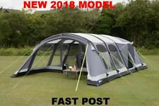 New 2018 Kampa Studland 8 Berth Man Person Large Family Inflatable Air Tent