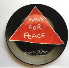 Ozzy Osbourne ULTRA RARE WINK FOR PEACE Porcelain Plate # A811 ONLY ONE ON EBAY!