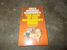ERLE STANLEY GARDNER~RARE THE CASE OF THE MURDERER'S BRIDE~INTRO BY ELLERY QUEEN