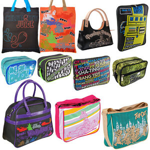 Retro Laptop Washbags Handbags to Clear. Discount Bargain Half Price Sale
