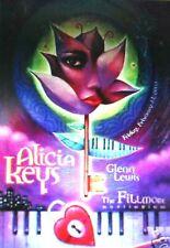 Alicia Keys Fillmore Poster Glenn Lewis Fdn12 Orig Bill Graham Denver A. Zawacki