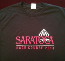 SARATOGA RACE TRACK RACE COURSE 2014 T-SHIRT - NEW - Large