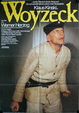 Woyzeck Filmposter A1 Klaus Kinski, Eva Mattes, Wolfgang Reichmann, Willy Semmel