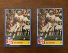 1984 Topps NFL Star Set #3 Dan Marino Rookie Card  2 CARDS!