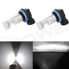JDM ASTAR 2x 6000K  Xenon White H8 H9 H11 LED Bulbs Driving Fog Lights Lamps DRL
