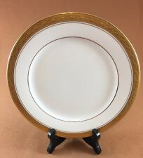 """Legendary by Noritake Crestwood Gold 8 1/4"""" Salad Plate Gold Band Inner Ring"""