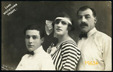 Louis Weitzmann Troupe, cirsus artists, Vintage PC Photograph, 1920s