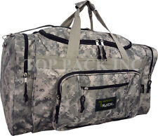 """19""""/21""""/25""""/28"""" Camouflage Duffel Bag/ Sports/ Gym/ Suitcase/ Carry-on Duffel"""