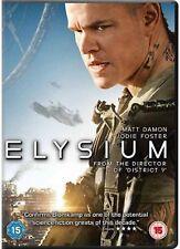 Elysium DVD Matt Damon Jodie Foster Neill New and Sealed Original UK Release R2