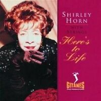 """SHIRLEY HORN """"HERE'S TO LIFE"""" CD NEW+"""