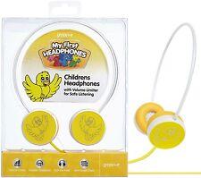 Groov-e gvmf01 amarillo infantil Auriculares con / Volumen Limitador ORIGINAL /