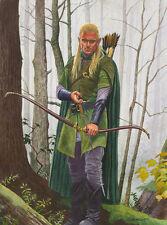 Legolas Lord Of The Rings Art Print