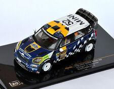 IXO Mini John Cooper Works #52 Sandell - Parmander Rally Sweden 2012 RAM493 1/43