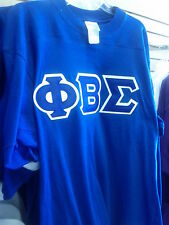 Phi Beta Sigma  stitched shirt new.